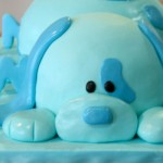 Blue Puppy - Sweet Cheeks Custom Cake