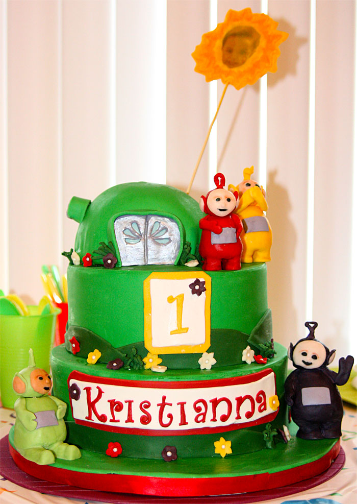 Teletubbies - Sweet Cheeks Custom Cake