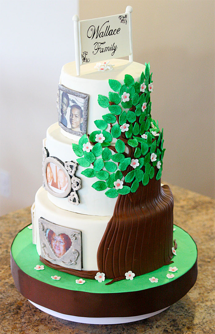 Family Tree - Sweet Cheeks Custom Cakes