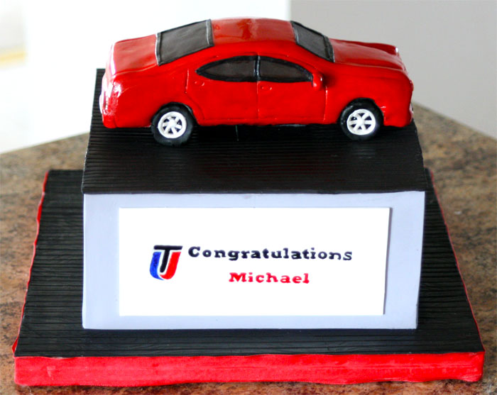 Car - Sweet Cheeks Custom Cakes