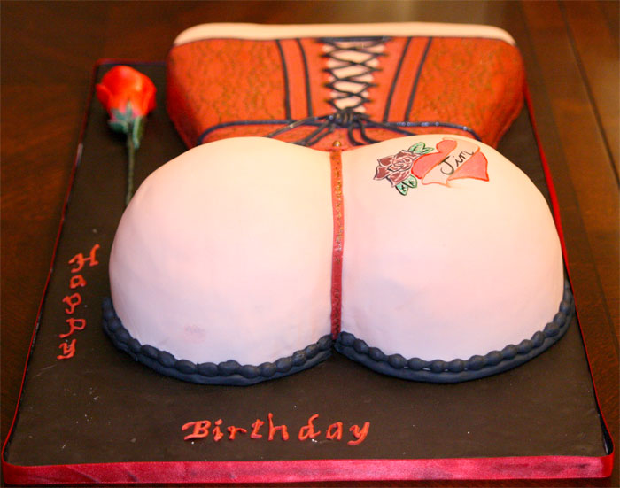 Thong Cake - Sweet Cheeks Custom Cake