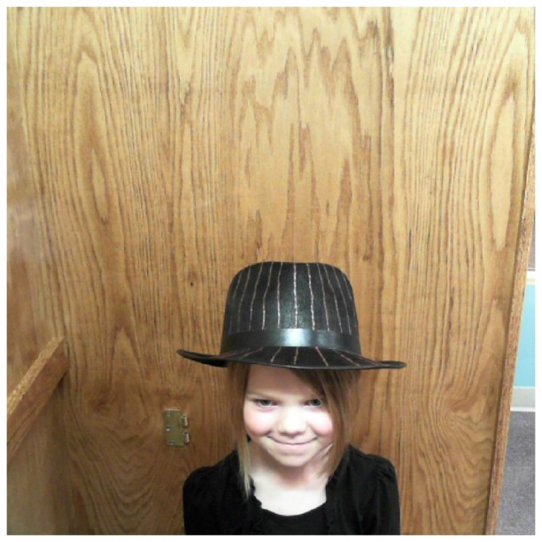 bess in a top hat