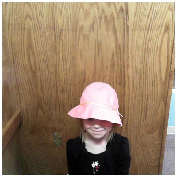 bess in a cute hat