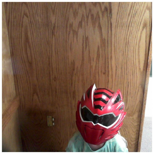 Gracie the red ranger