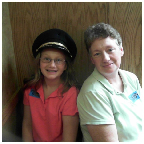 Angela and Hannah