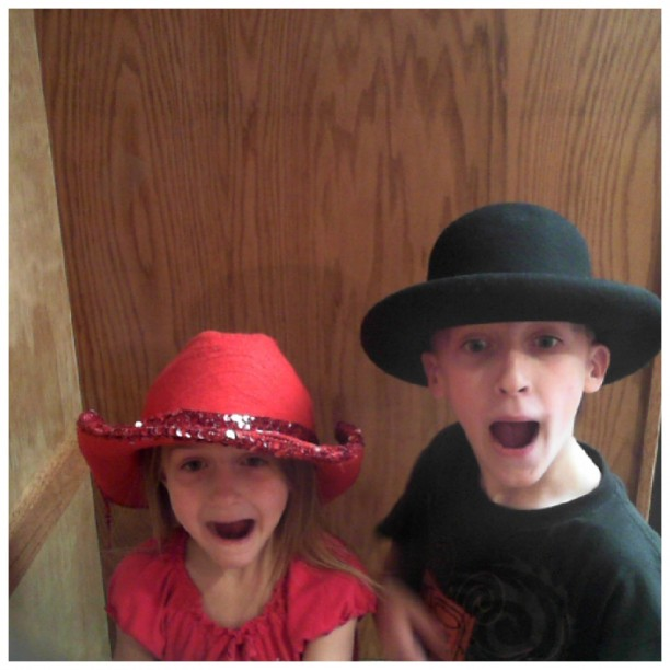 gavin and rebeka as wird cowboy and cowgirl