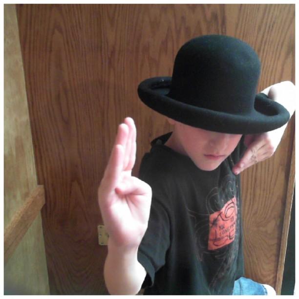 gavin as ninja cowboy