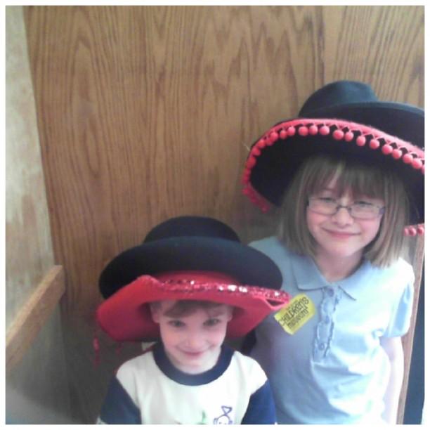 double hats