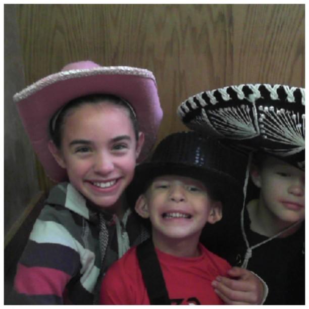 Grace, Zach, and Caleb