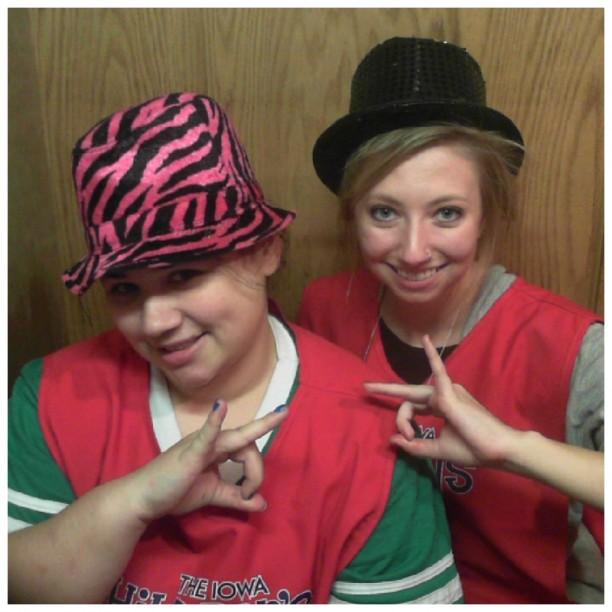 Rachel and Stephanie
