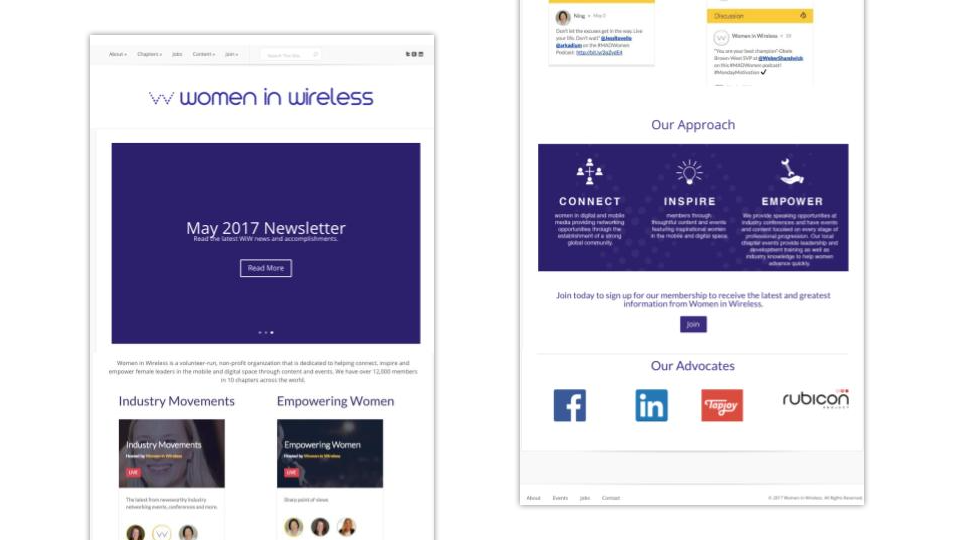 Women in Wireless Original Site