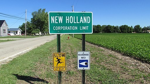 Village of New Holland, Derek Myers, First Amendment Violations, Civil Rights, 1983, Political Retaliation
