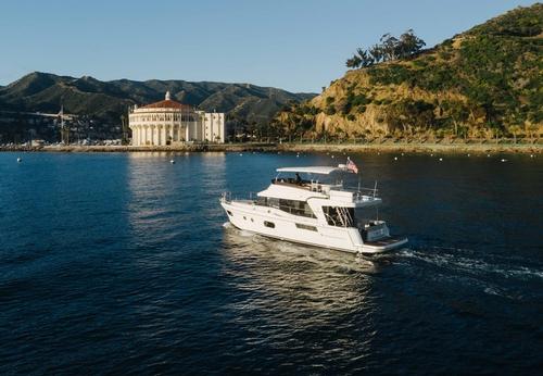Departing Monterey Bay