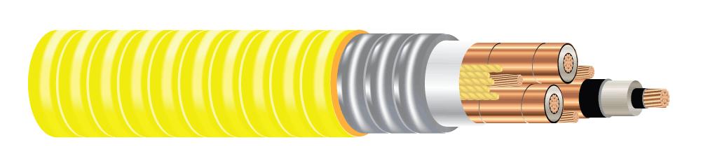 Mv spec 46255 type mv 105 three conductor copper 115 mils no lead ethylene propylene rubber nl epr 133 insulation level tape shield continuous corrugated welded keyboard keysfo Choice Image