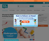 Best Kindergarten Websites & Activities for Learning at Home
