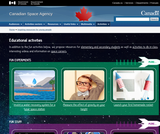 Canadian Space Agency - Educational activities