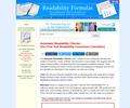 AUTOMATIC READABILITY CHECKER, a Free Readability Formula Consensus Calculator