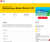 Canada Learning Code - Envisioning a Better World in VR (lesson 5)