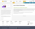 Learn to Code at Codeacademy