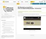 DLC Blended Learning Math 6 - Unit 2.0: Understanding Numbers - Introduction
