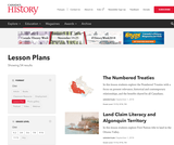 Canada's History Magazine Lesson Plans