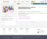 Making Math More Fun - Games to Engage Students in Math