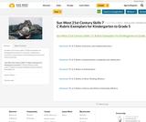 21st Century Skills (FASA) 7 C Rubric Exemplars for Kindergarten to Grade 5