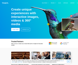Create unique experiences with interactive images, videos & 360° media — ThingLink