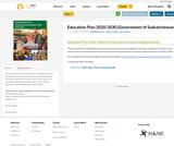 Education Plan 2020-2030 (Government of Saskatchewan)