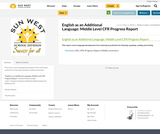 English as an Additional Language: Middle Level CFR Progress Report