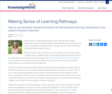Making Sense of Learning Pathways
