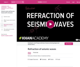 Cosmology and Astronomy: Refraction of Seismic Waves