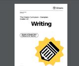 Ontario Writing Exemplars