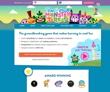 Free Phonics & Reading Game - Teach Your Monster to Read Game