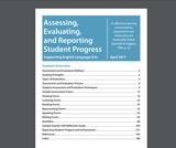 Assessing, Evaluating, and Reporting Student Progress Saskatchewan Online Curriculum
