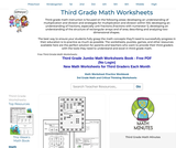 Third Grade Math Worksheets - Free Printable Math PDFs