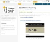DLC ELA5: Unit 2 - Questioning