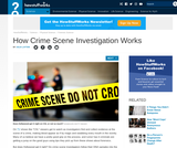 Introduction to How Crime Scene Investigation Works