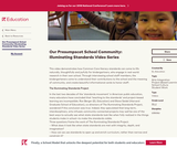 Our Presumpscot School Community: Illuminating Standards Video Series