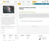 Interactive Portfolio with Adobe InDesign