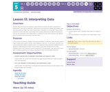 CS Discoveries 2019-2020: Data and Society Lesson 5.13: Interpreting Data