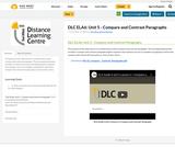 DLC ELA6: Unit 5 - Compare and Contrast Paragraphs