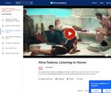 Alma-Tadema's Listening to Homer