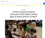 CS FIRST - Teach Computer Science & Coding to Kids
