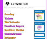 Corbettmaths – Videos, worksheets, 5-a-day and much more