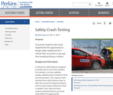 Safety Crash Testing