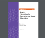 Quality  Principles for  Competency-Based Education