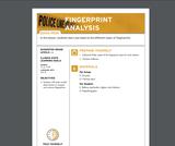 Fingerprint Analysis Lesson