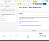 Stress, the Brain & Mental Health Hygiene