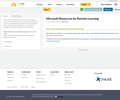 Microsoft Resources for Remote Learning